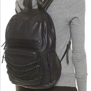 Ash Women's Domino Chain Backpack Black